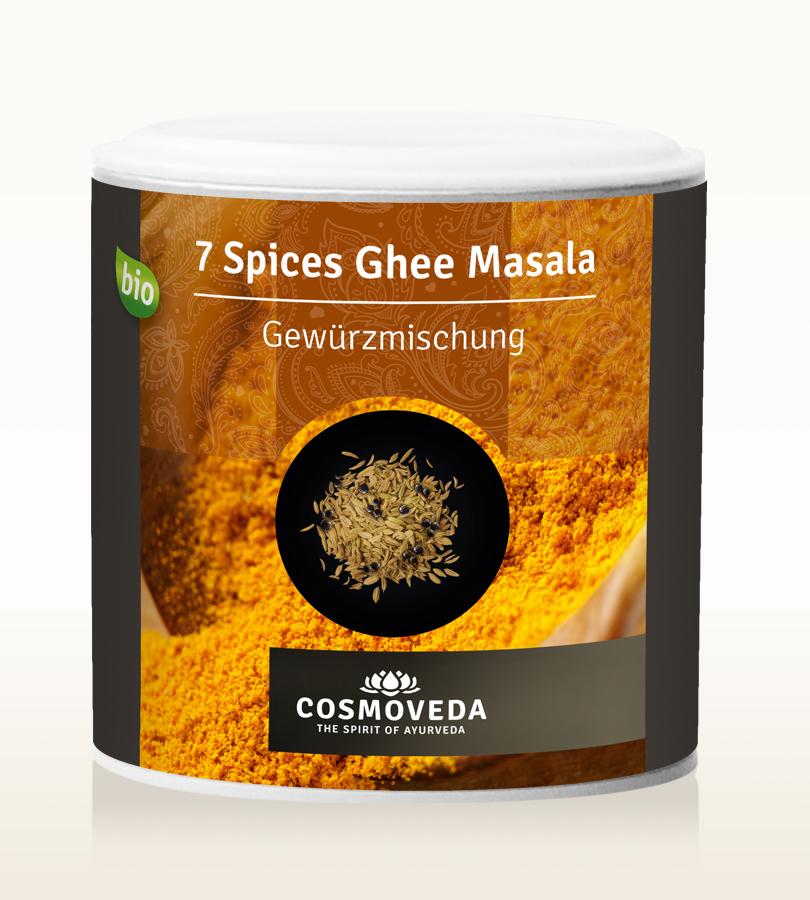 Cosmoveda BIO 7 Spices Ghee Masala 90g Dose