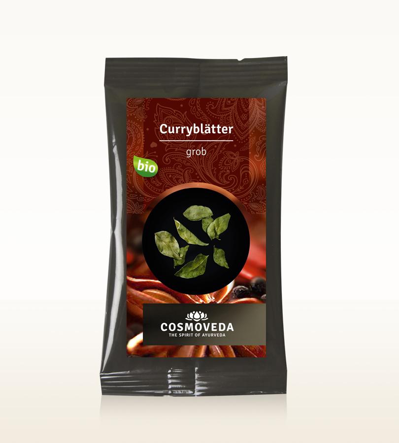 Cosmoveda BIO Curryblätter, grob  5g