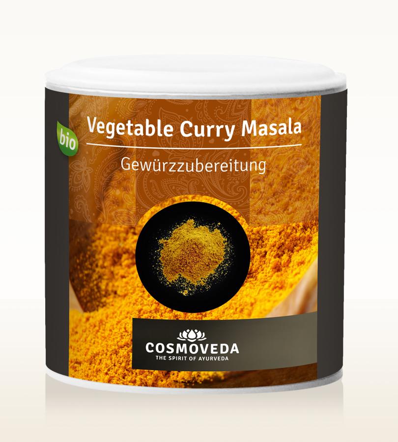 Cosmoveda BIO Vegetable Curry Powder  80g Dose