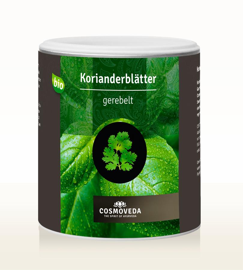 Cosmoveda BIO Korianderblätter gerebelt 60g