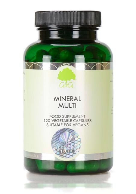 G&G Vitamins Mineral Multi 120 veg. Kapseln (30,42g) (vegan)