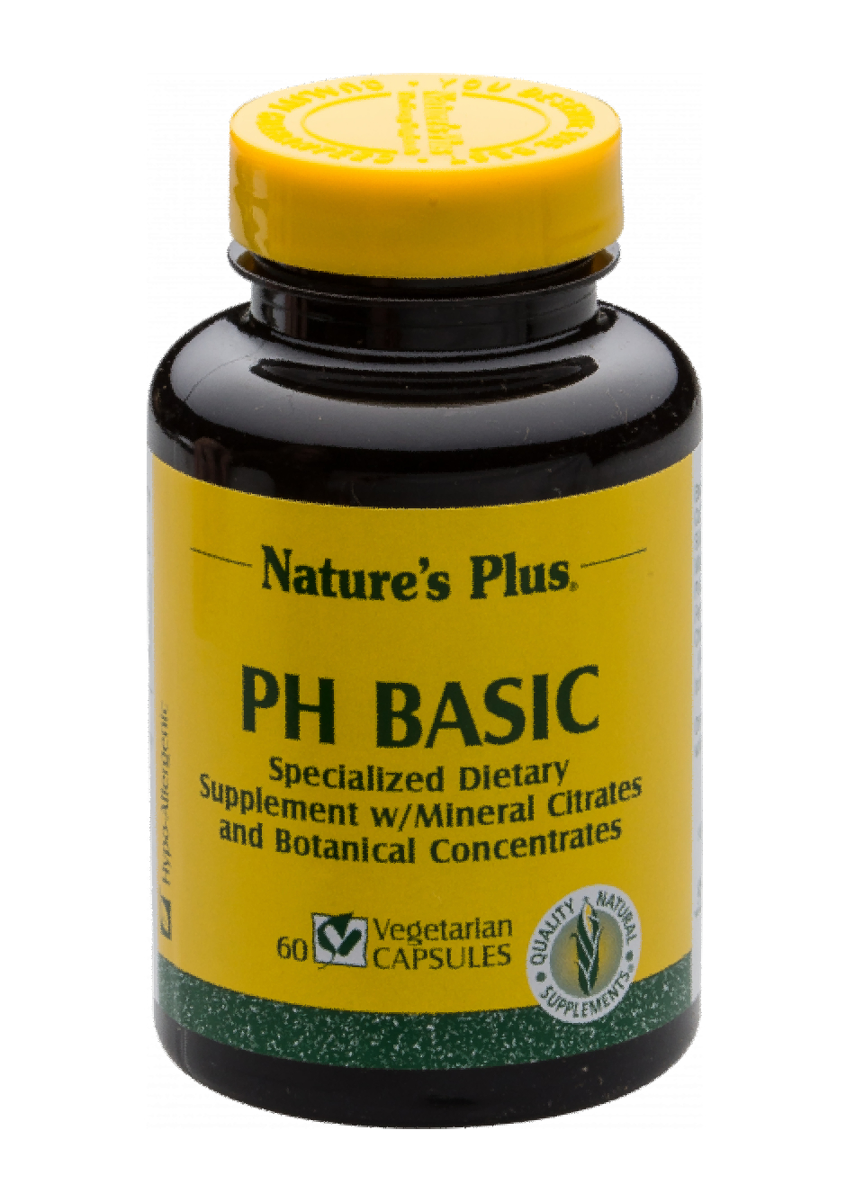 Natures Plus ph Basic 60 veg. Kapseln