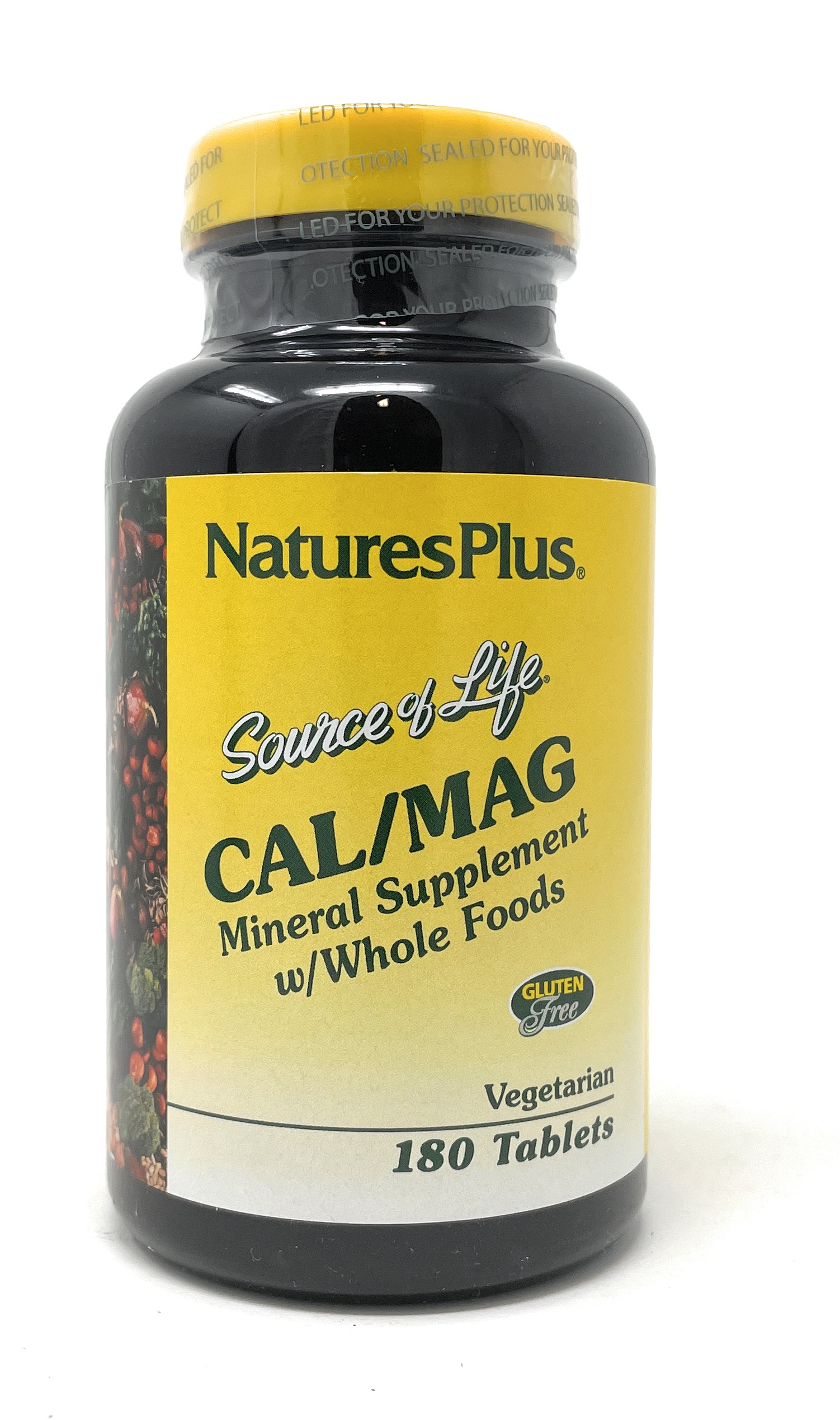 Natures Plus Source of Life® Cal/Mag 500/250mg 180 Tabletten
