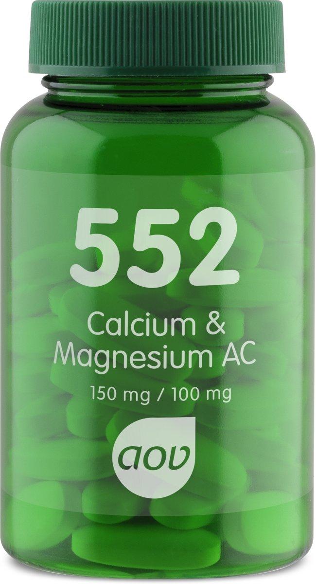AOV 552 Calcium & Magnesium AC (Ca-Mg-Bisglycinat 150mg / 100mg) 60 Tabletten