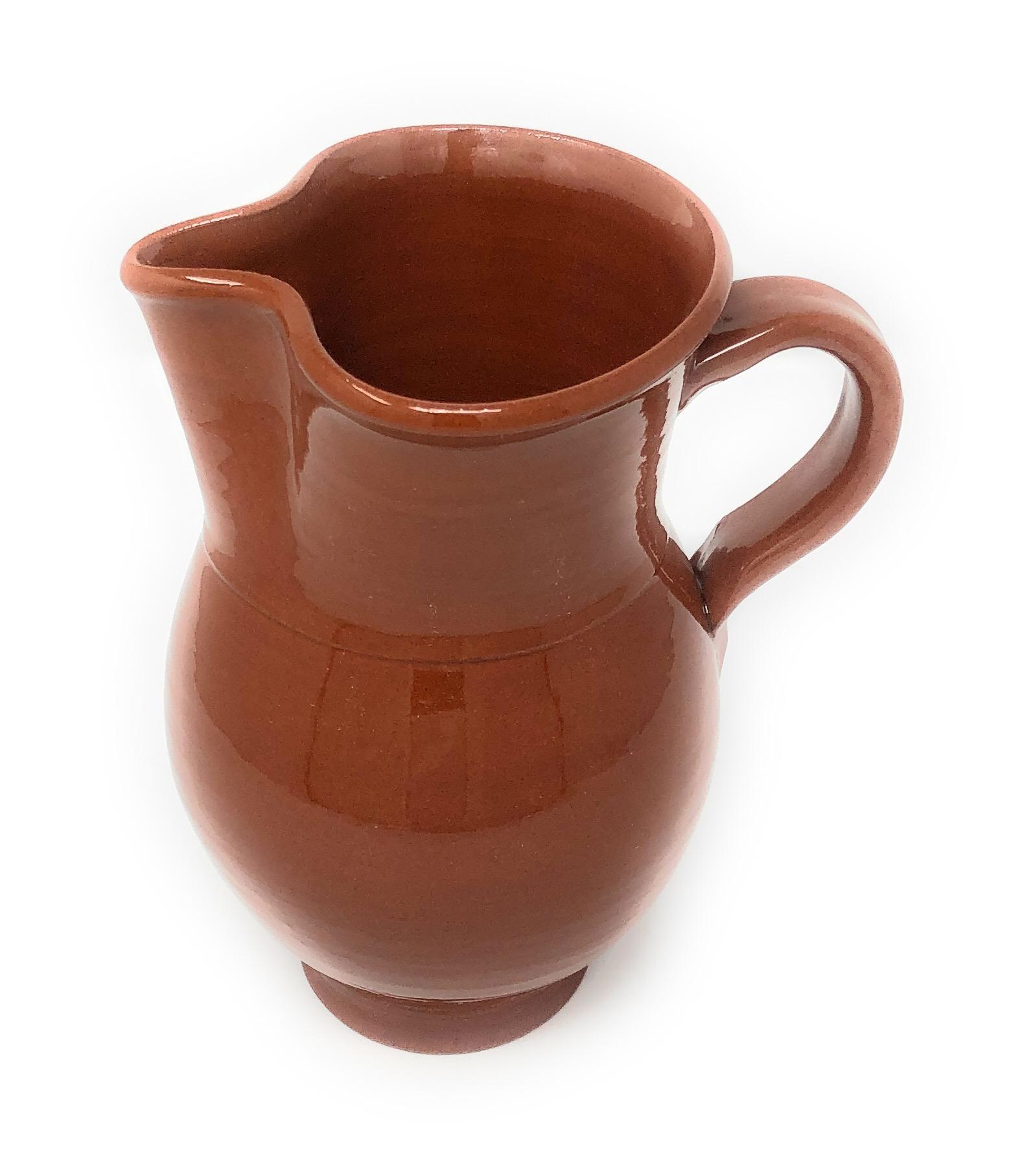 Alfareria Padilla Cazuela Keramik-Krug, braun 1000 ml