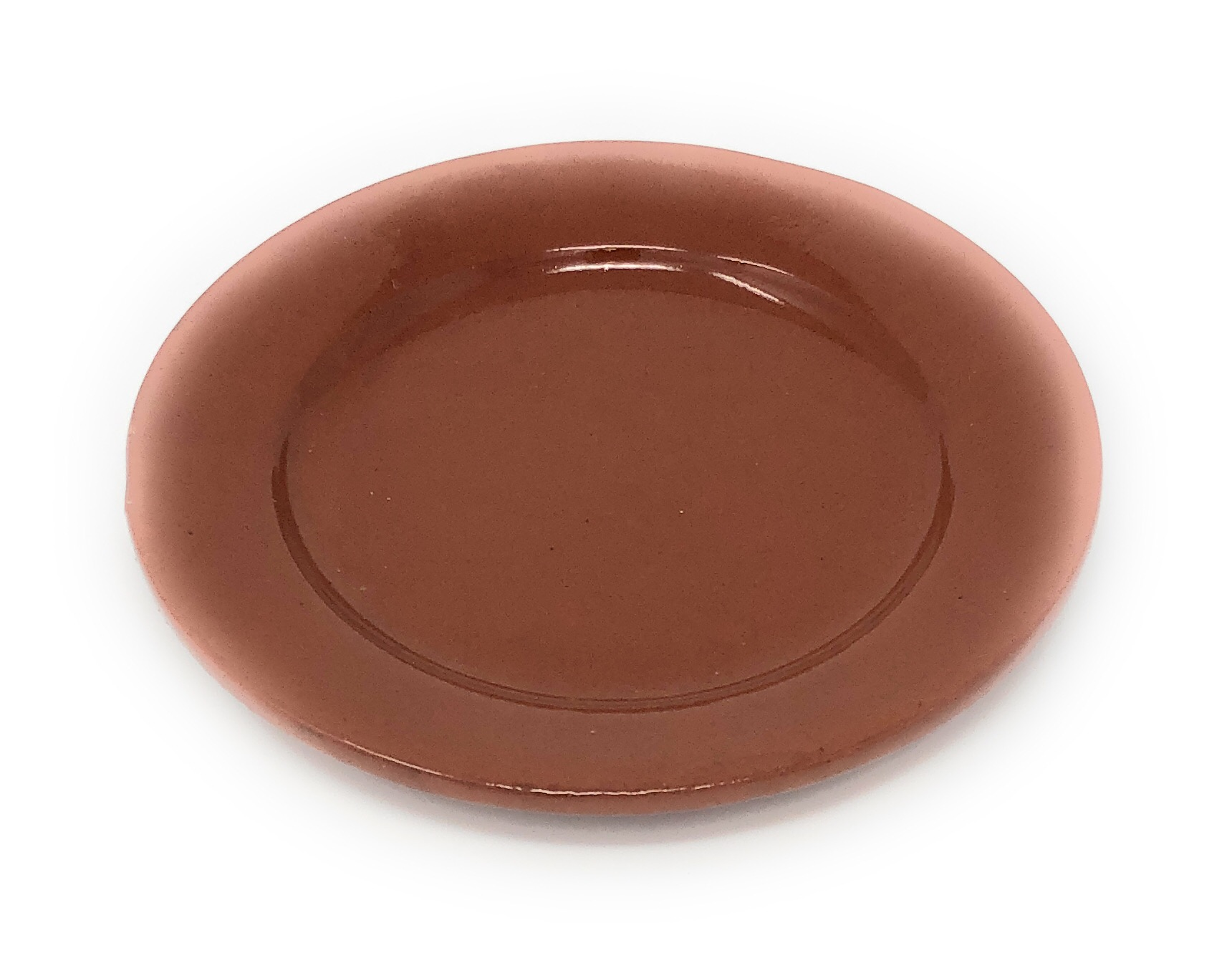Alfareria Padilla Cazuela Keramikteller Brotteller, braun 16,5cm