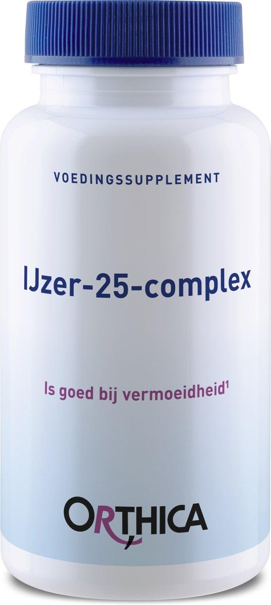 Orthica IJzer-25-complex (25mg Eisen) 90 Tabletten