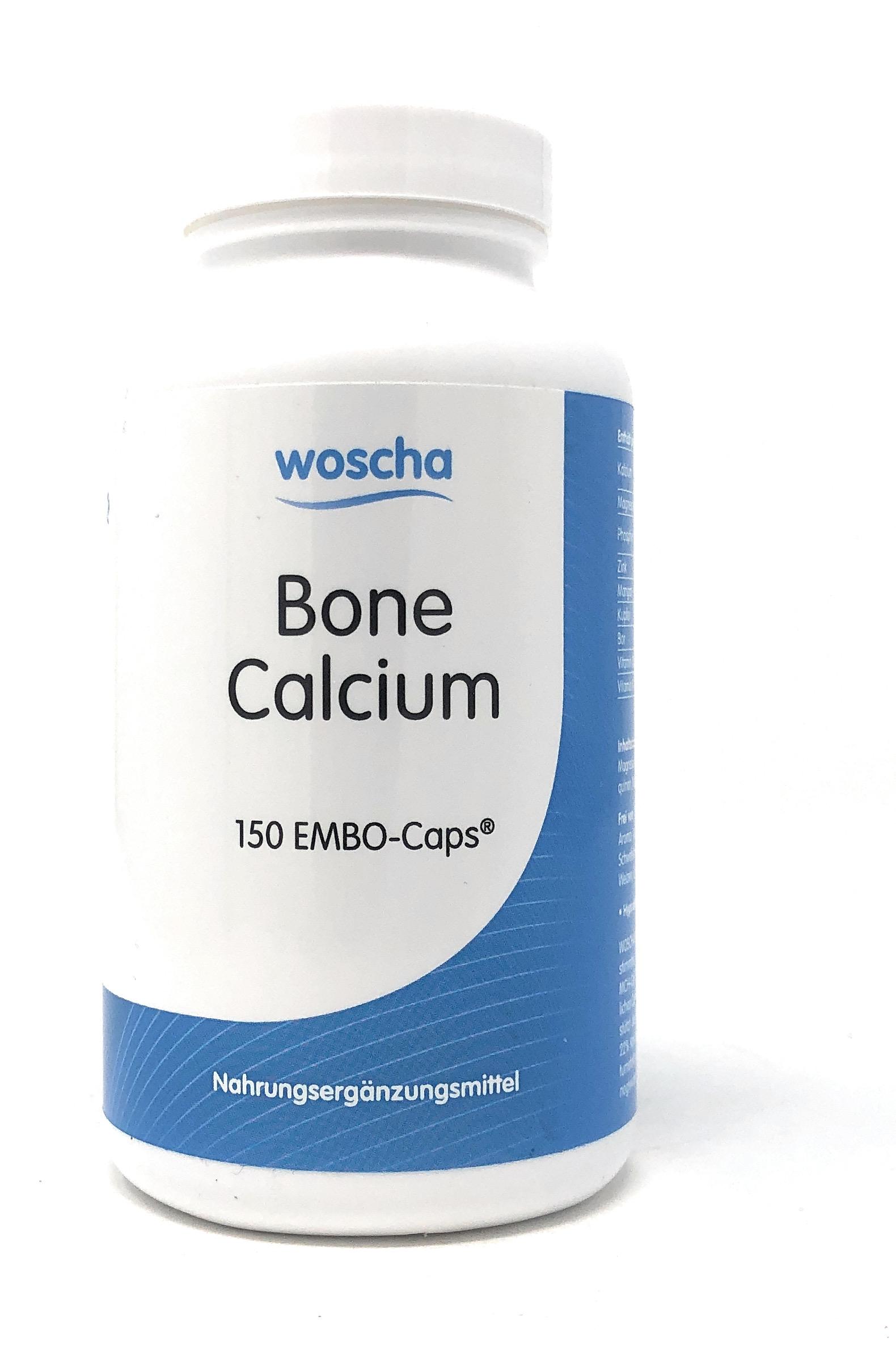 woscha Bone Calcium 150 Embo-CAPS® (149g)