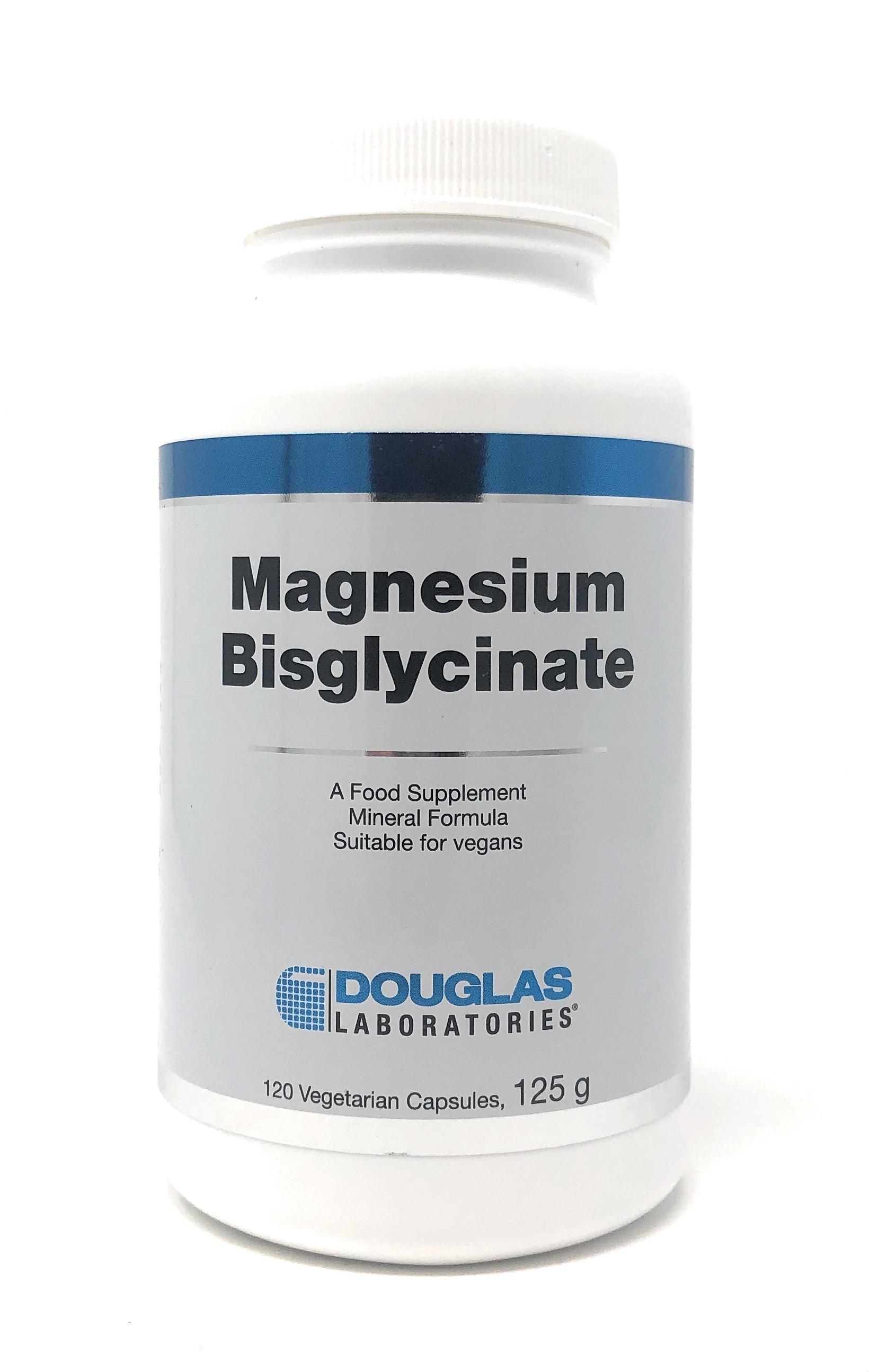 Douglas Laboratories Europe Magnesium Bisglycinate 120 veg. Kapseln (125g)
