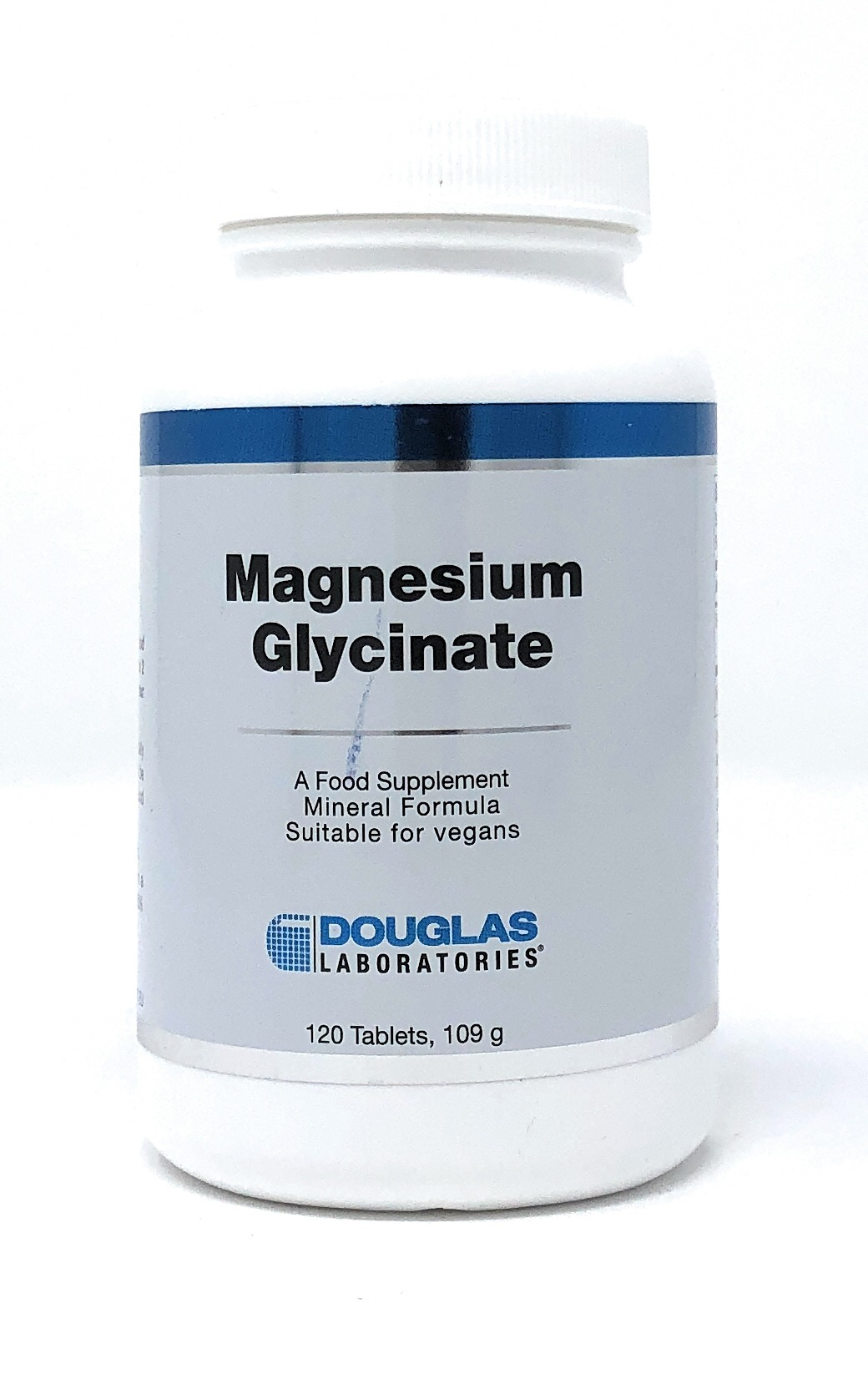 Douglas Laboratories Magnesium Glycinate 100 mg 120 Tabletten (145g)