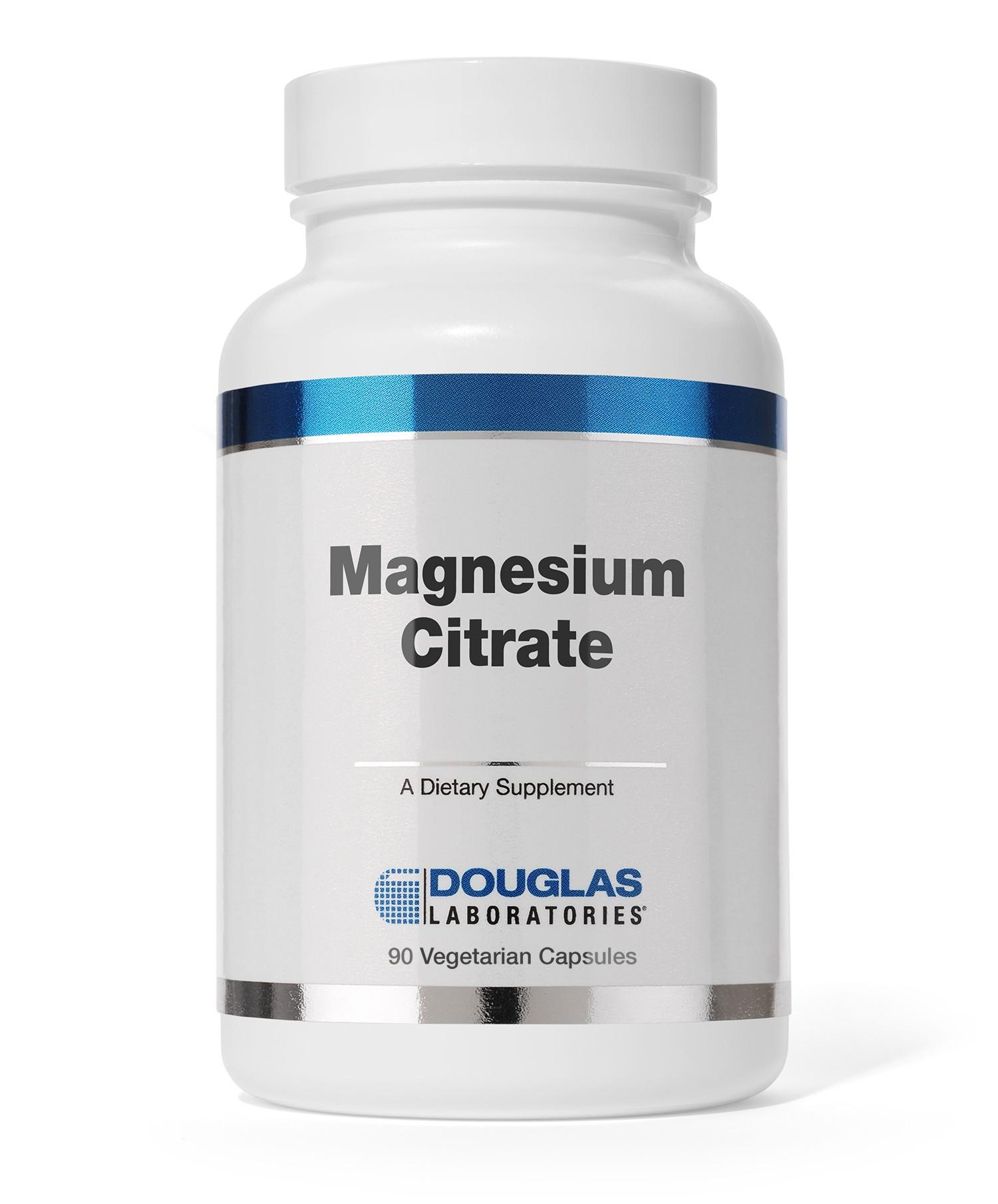 Douglas Labs Magnesium Citrate 90 veg. Kapseln (98g)