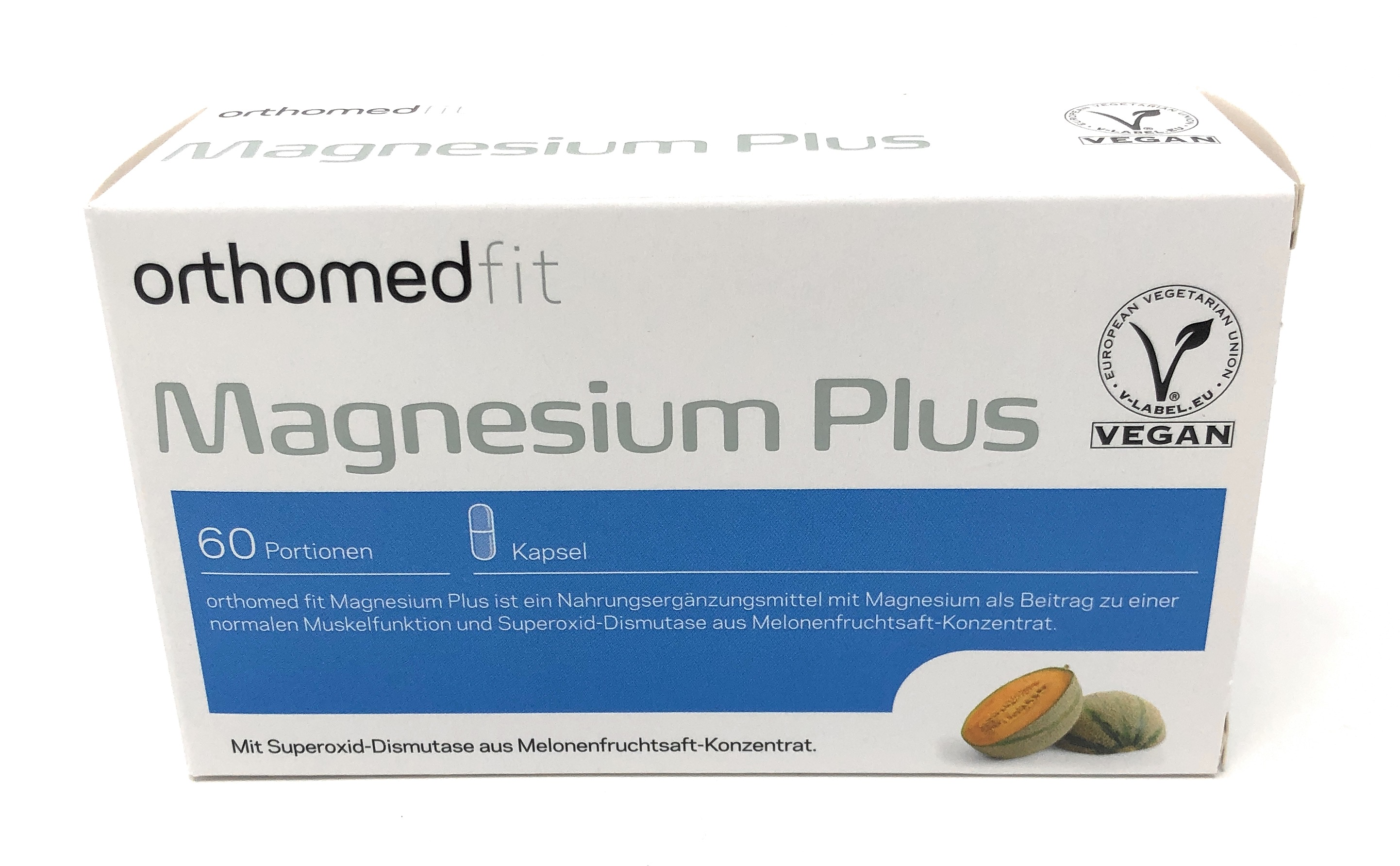 orthomed orthomed fit Magnesium Plus 60 veg. Kapseln (41,4g) (vegan)