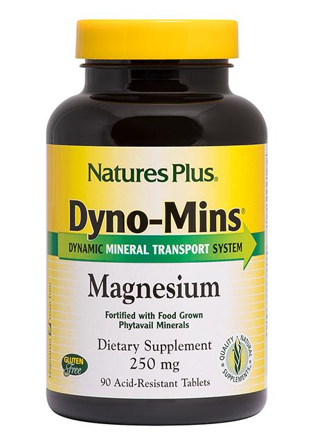 Natures Plus DYNO-MINS® Magnesium 250 90 Tabletten (181,8g)