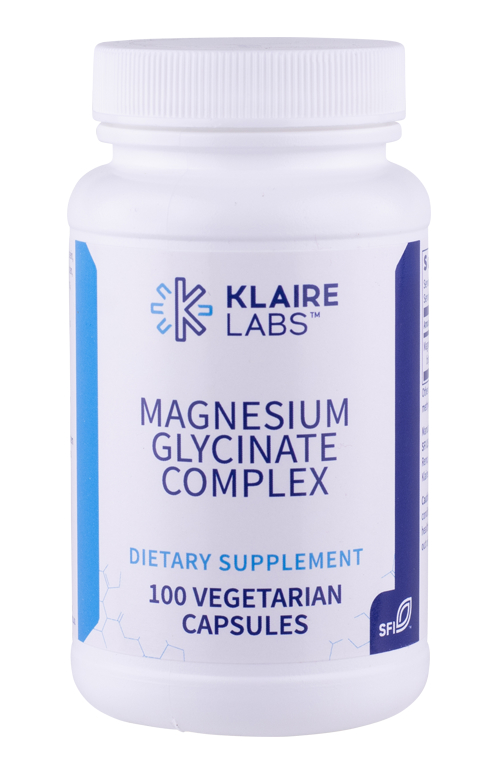 Klaire Labs Magnesium Glycinate Complex 100 veg. Kapseln