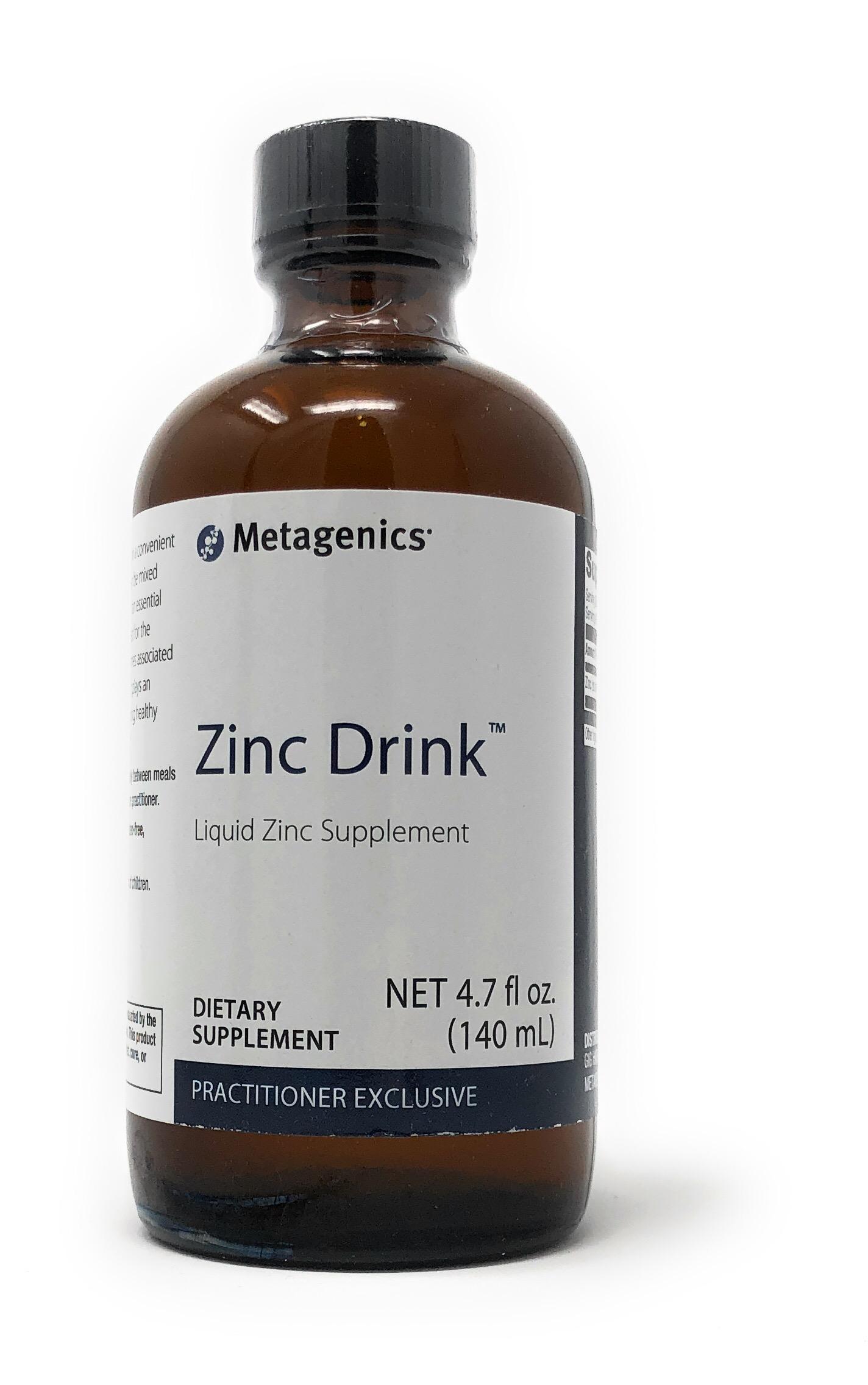 Metagenics Zinc Drink[TM] (flüssiges Zink Sulfat) 140ml Flasche