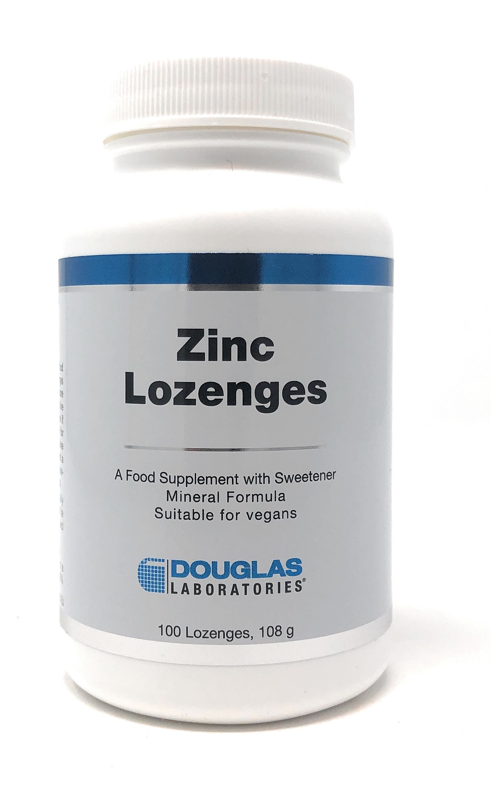 Douglas Laboratories Europe Zinc Lozenges 100 Lutschtabletten (108g)