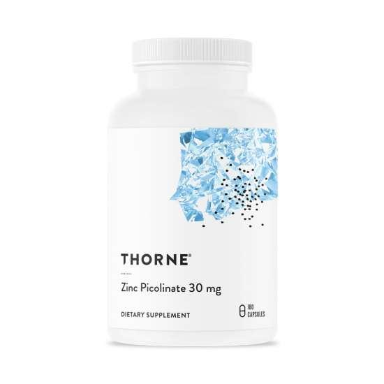 Thorne Zinc Picolinate (30mg Zink Picolinat) 180 veg. Kapseln