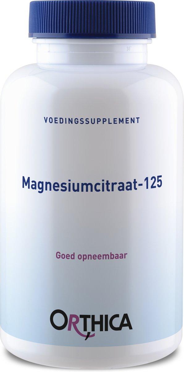 Orthica Magnesiumcitraat-125 90 Kapseln