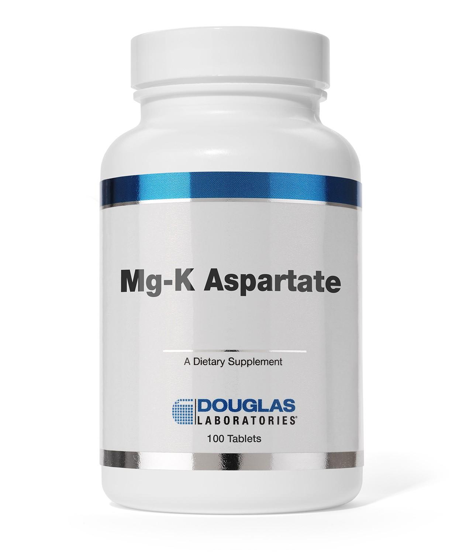 Douglas Labs Mg-K Aspartate (Magnesium + Kalium) 100 Kapseln