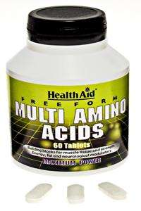Health Aid Multi Amino Acids  60 Tabletten