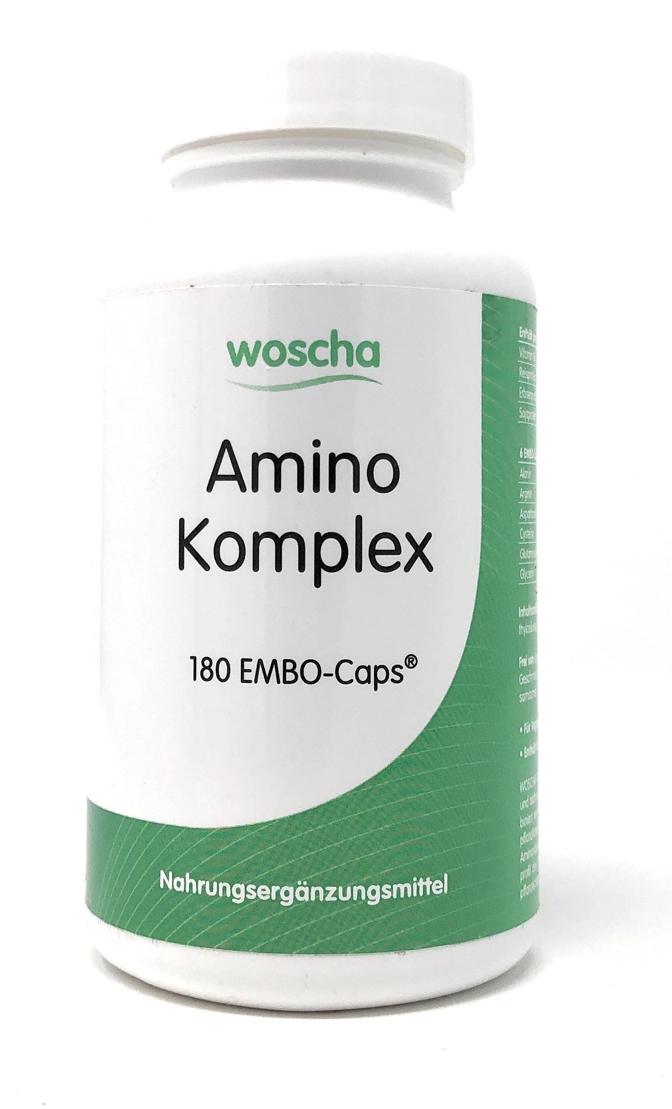 woscha Amino-Komplex 180 Embo-CAPS® (119g)(vegan)