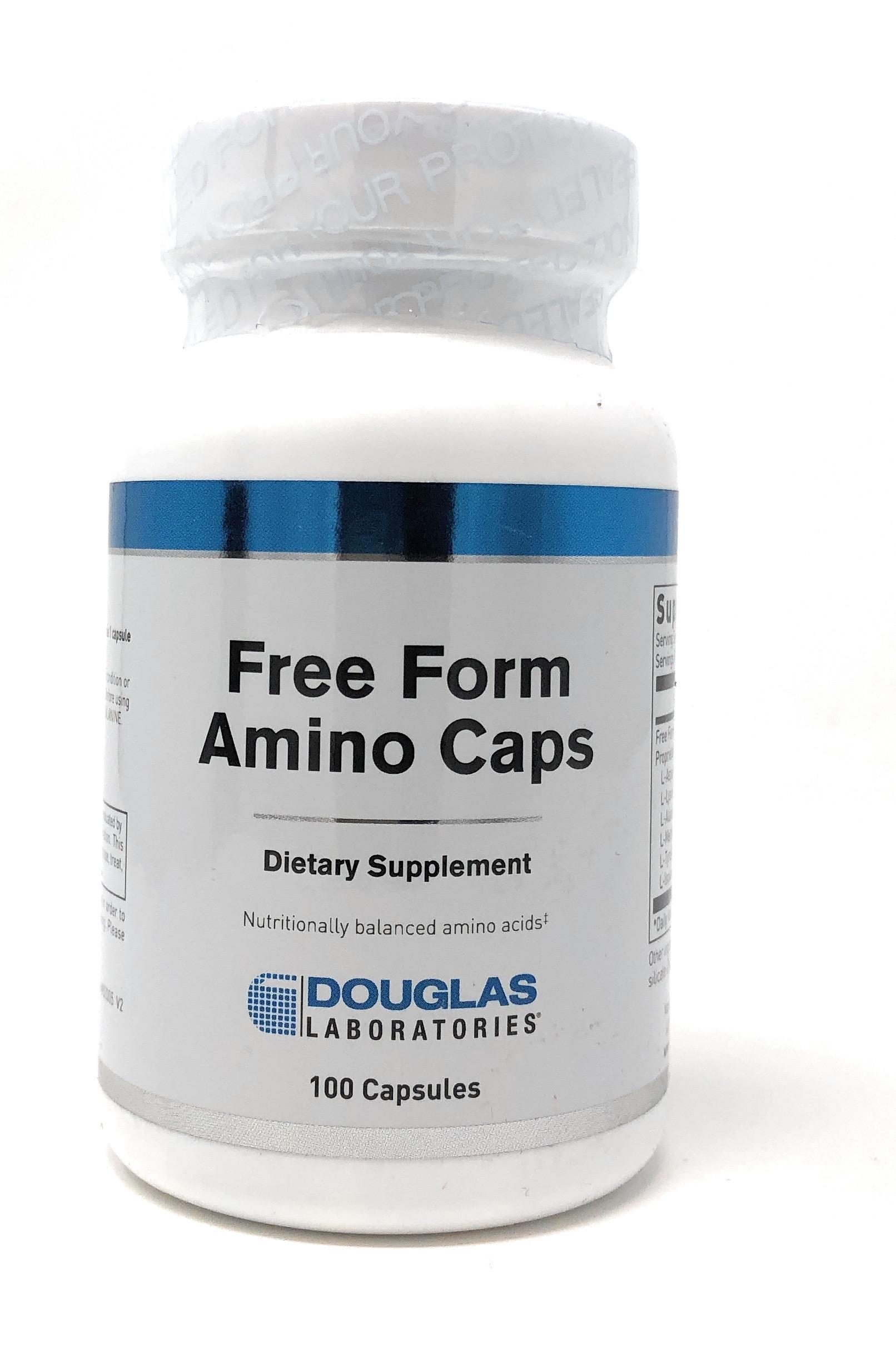 Douglas Labs Free Form Amino Acids 100 Kapseln