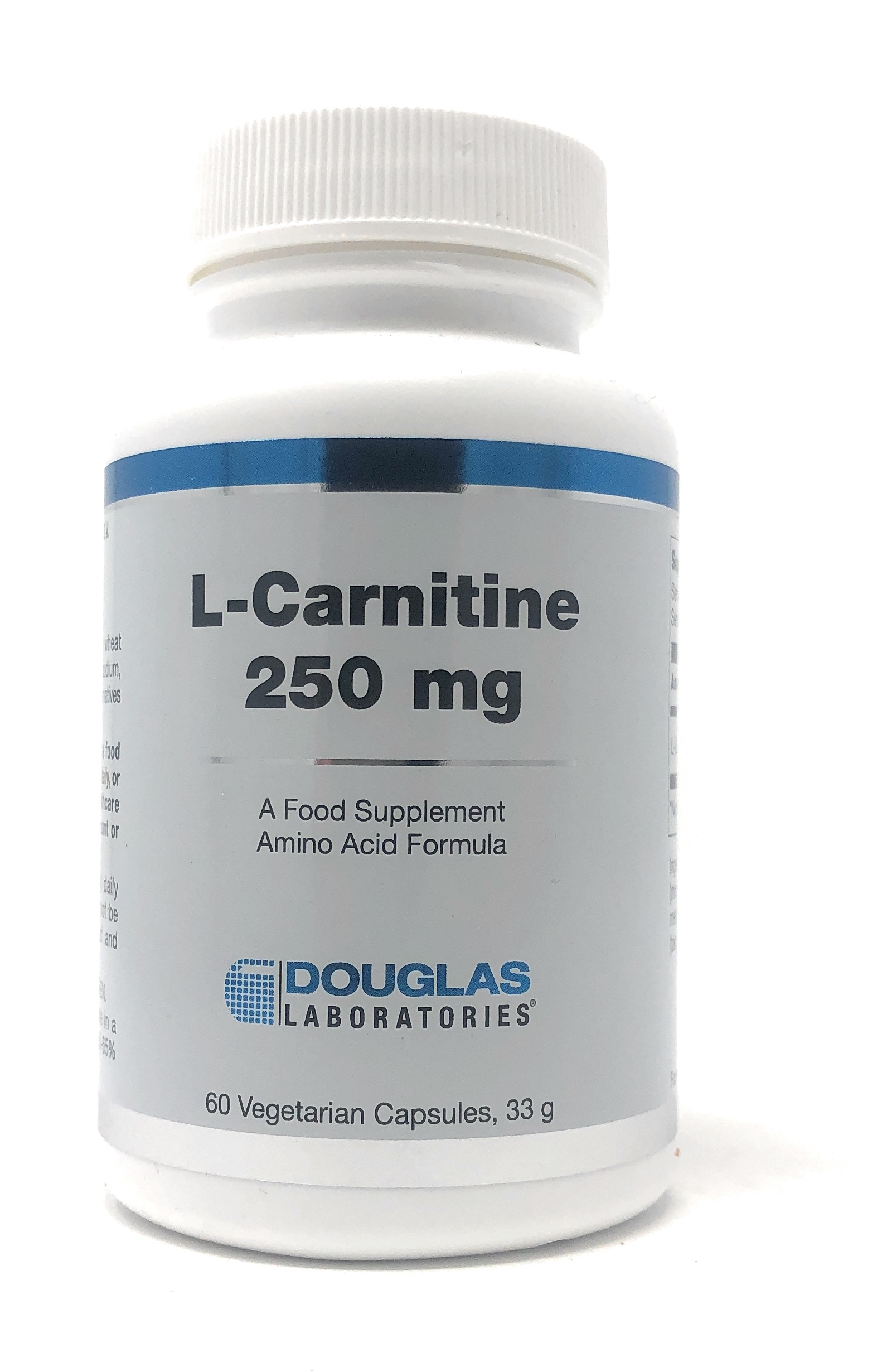 Douglas Laboratories Europe L-Carnitine 250 mg 60 Kapseln (33g)(vegan)