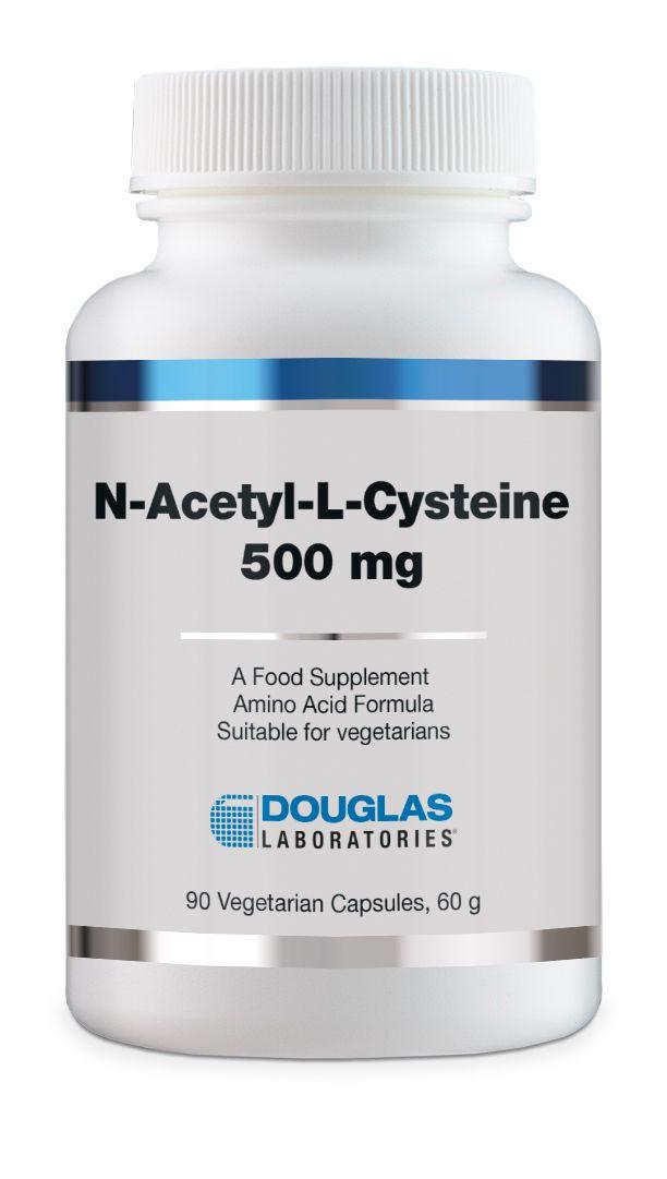 Douglas Laboratories Europe N-Acetyl Cysteine 500 mg 90 veg. Kapseln (60g)