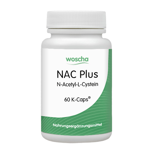 woscha NAC Plus (N-Acetyl-L-Cystein) 60 K-CAPS® (vegan)(47g)