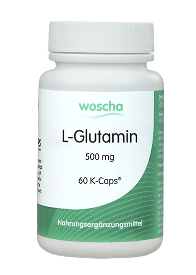 woscha L-Glutamin 500mg 60 K-CAPS® (36g) (vegan)