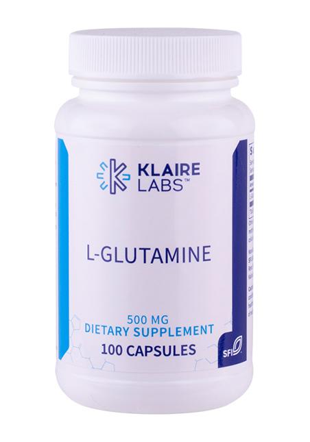 Klaire Labs L-Glutamine 500mg 100 veg. Kapseln (50g)