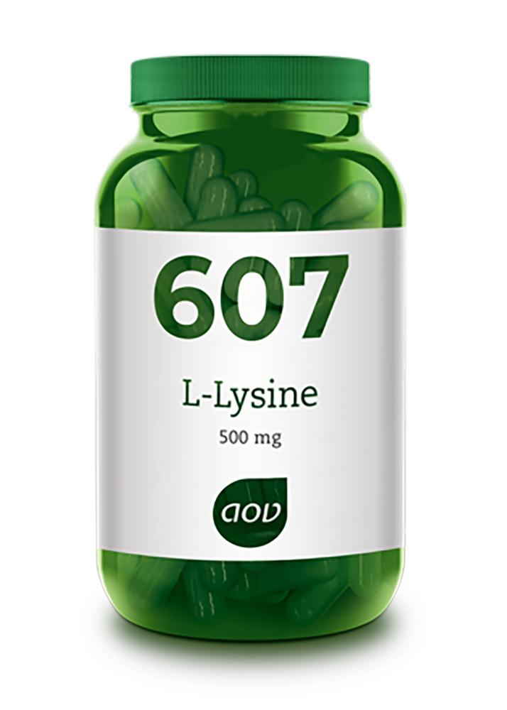 AOV 607 L-Lysine (500mg) 90 veg. Kapseln