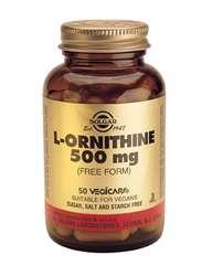 Solgar L-Ornithine 500mg 50 veg. Kapseln (vegan)