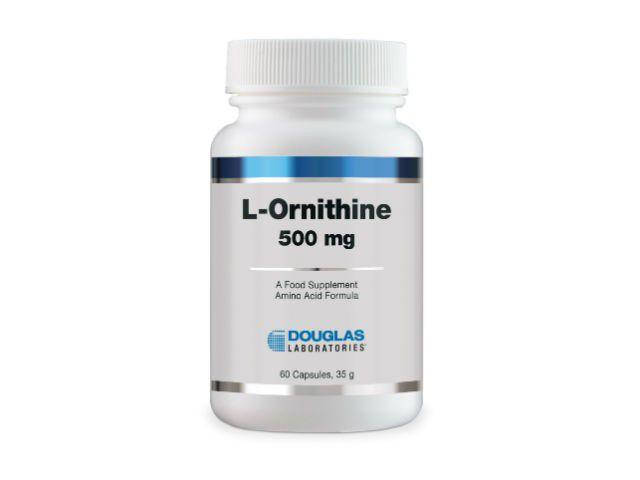 Douglas Laboratories Europe L-Ornithine / L-Ornithin 500mg 60 Kapseln (37g)