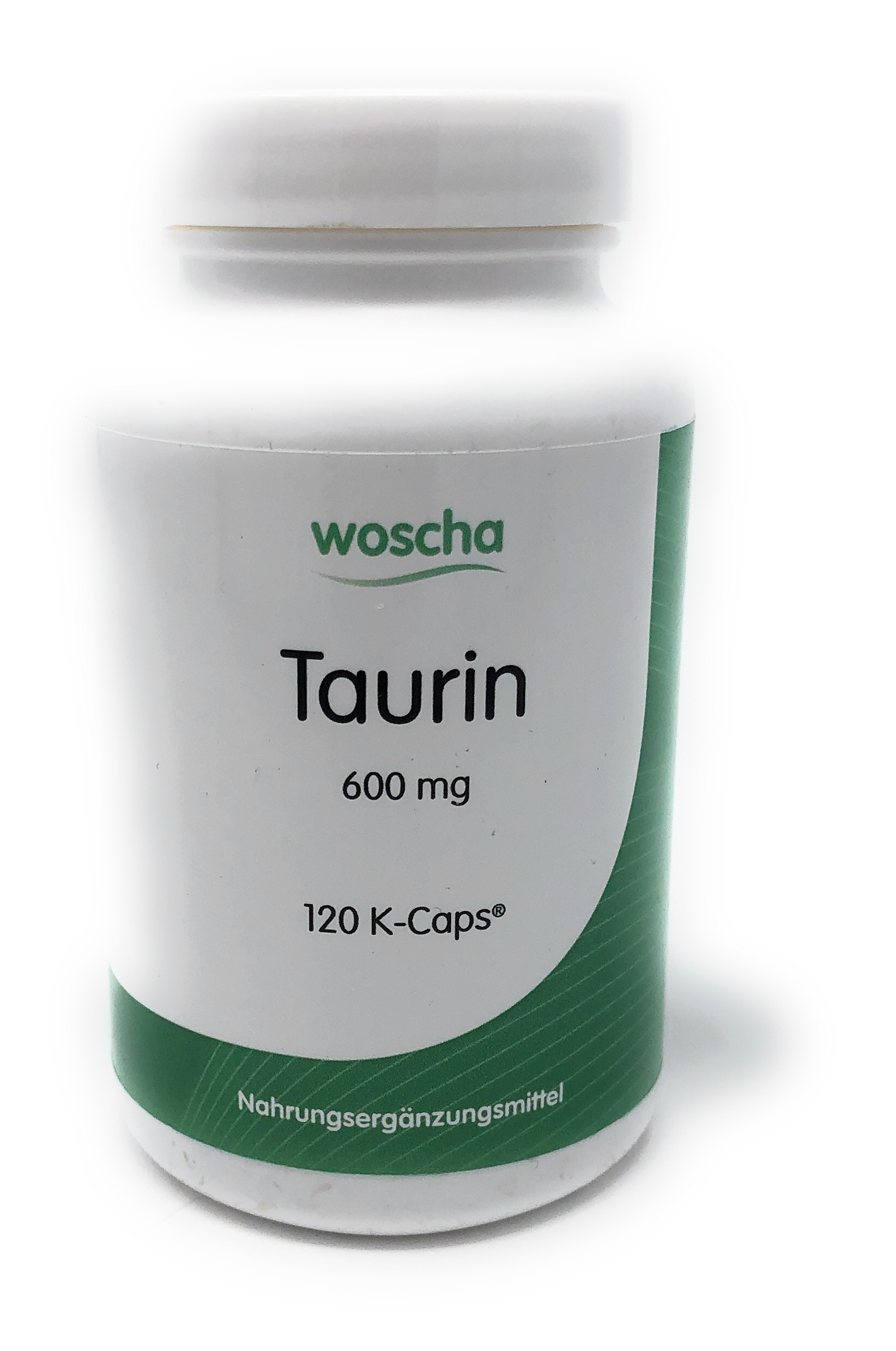 woscha Taurin 600mg 120 K-CAPS® (vegan)(100g)