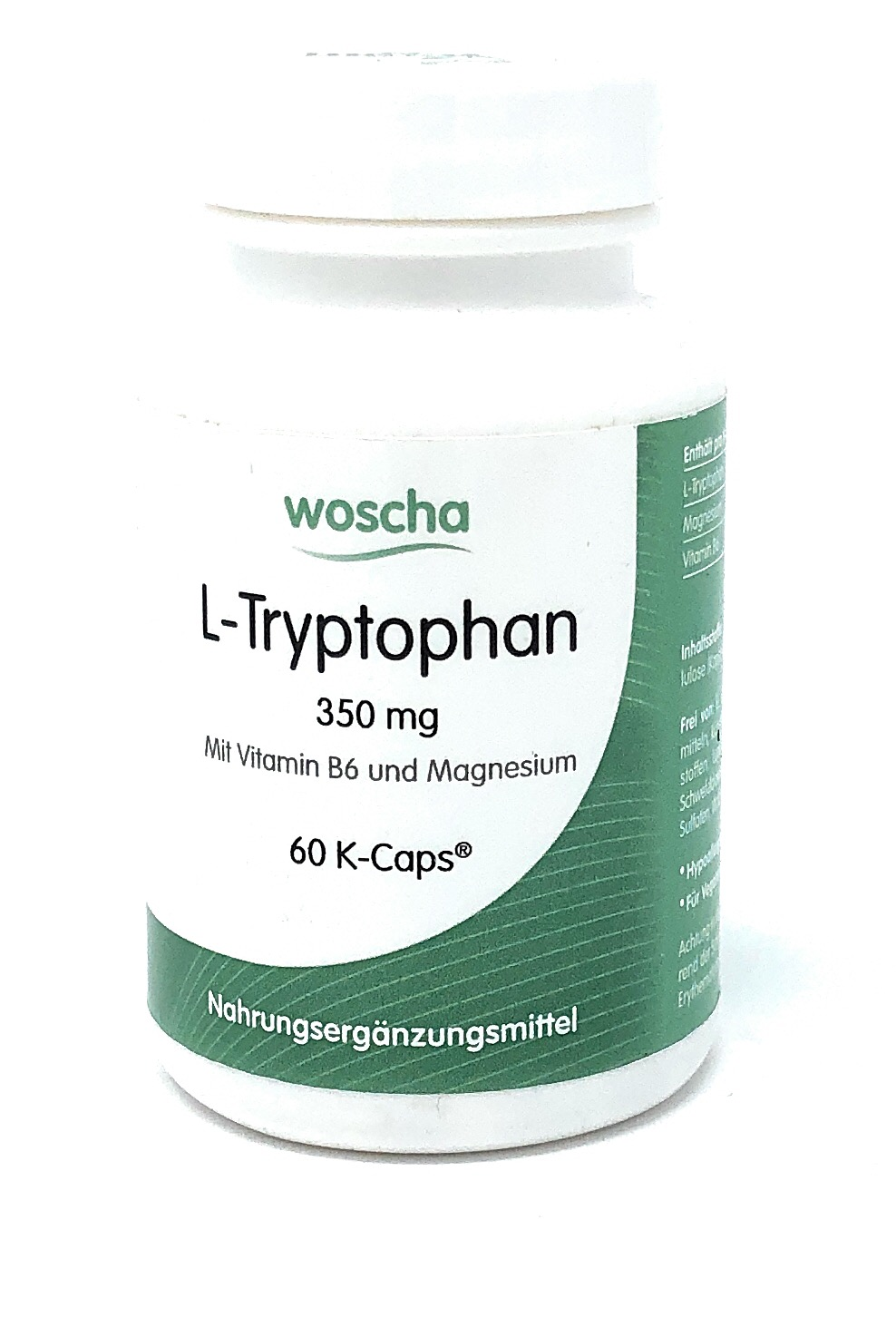 woscha L-Tryptophan 60 K-Caps (35g) (vegan)