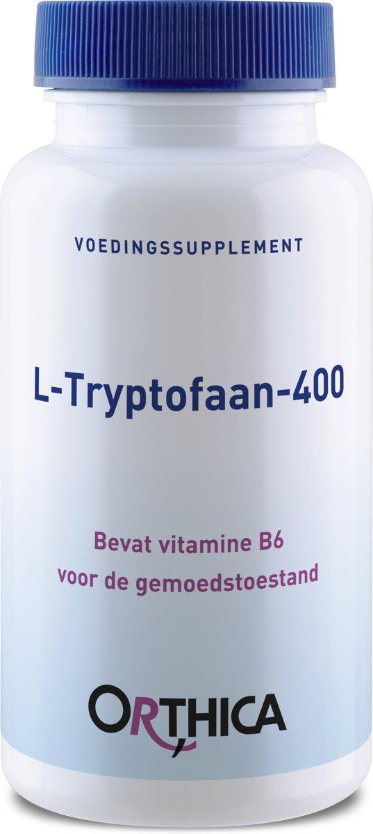 Orthica L-Tryptofaan-400 [L-Tryptophan 400mg] 60 Kapseln