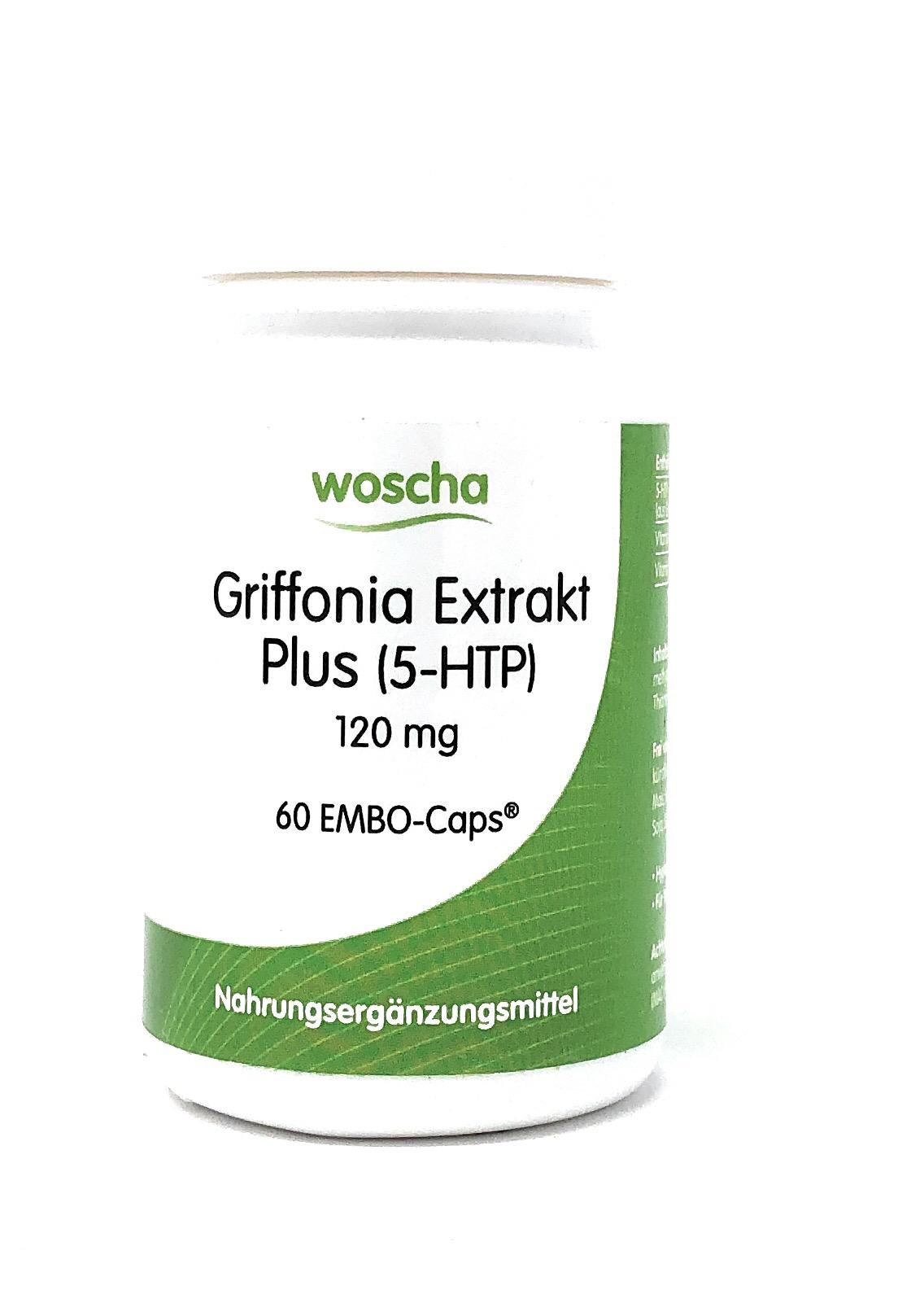 woscha Griffonia Extrakt Plus 60 Embo-CAPS®  (14g) (vegan)