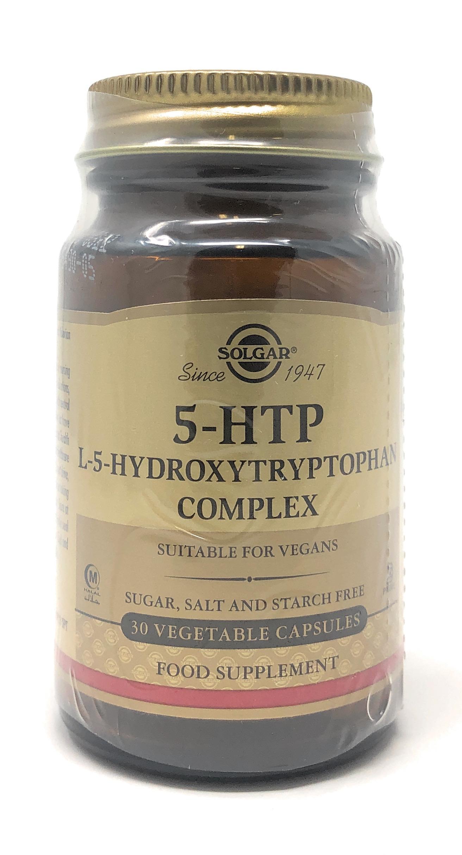 Solgar 5-HTP L-5-Hydroxytryptophan Complex 30 veg. Kapseln