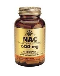 Solgar NAC (N-Acetyl-L-Cysteine) 600 60 veg. Kapseln