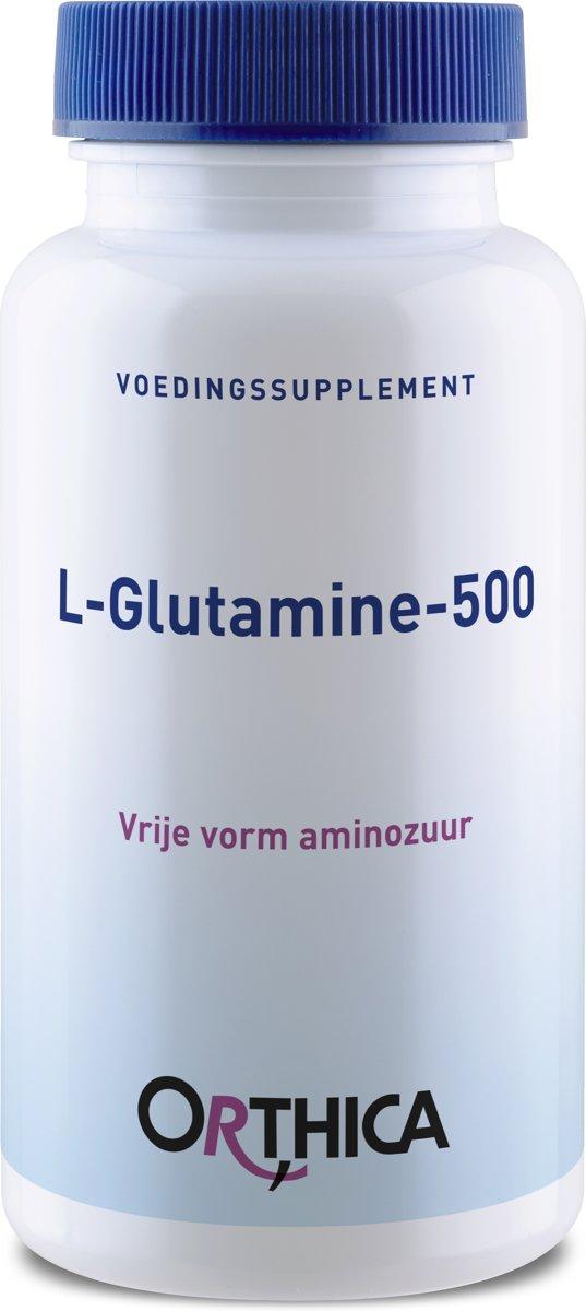 Orthica L-Glutamine 500mg 60 Kapseln