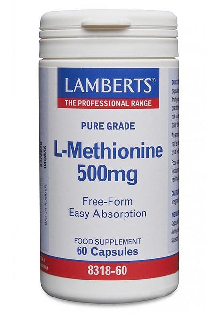 Lamberts Healthcare Ltd. L-Methionine 500mg 60 veg. Kapseln