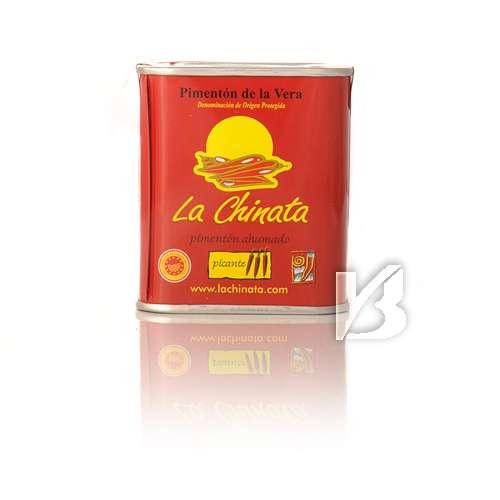 Chinata Pimenton de la Vera dulce - Geräuchertes Paprikapulver edelsüß extra 70 g Dose