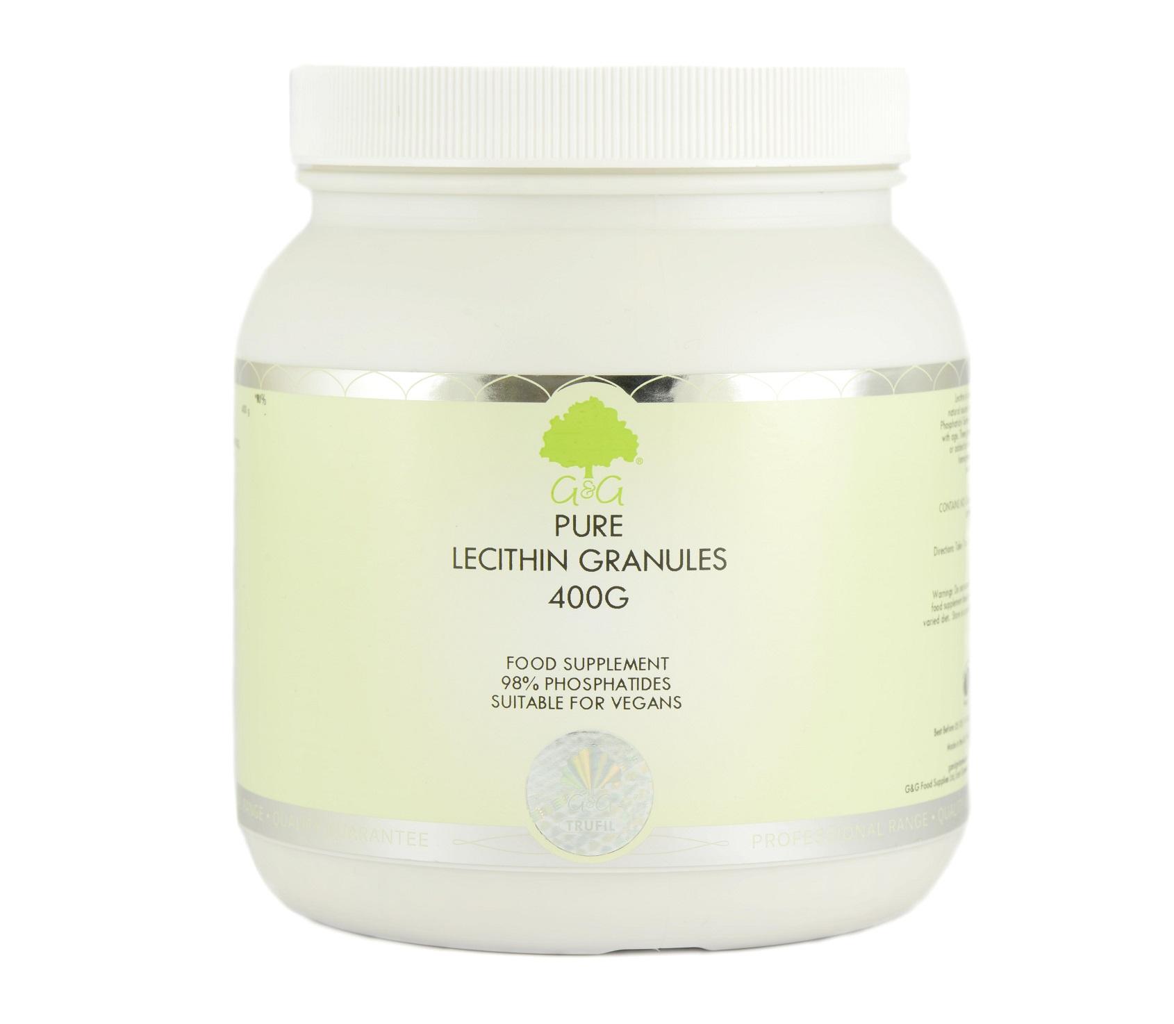 G&G Vitamins Lecithine Granules 400g (vegan)
