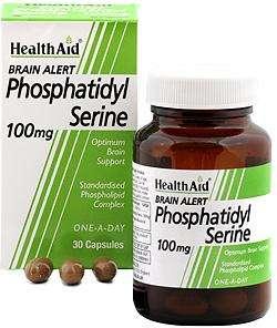 HealthAid Phosphatidyl Serine 100mg 30 Kapseln