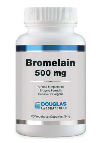 Douglas Laboratories Europa Bromelain 500mg 60 veg. Kaspeln (34g)