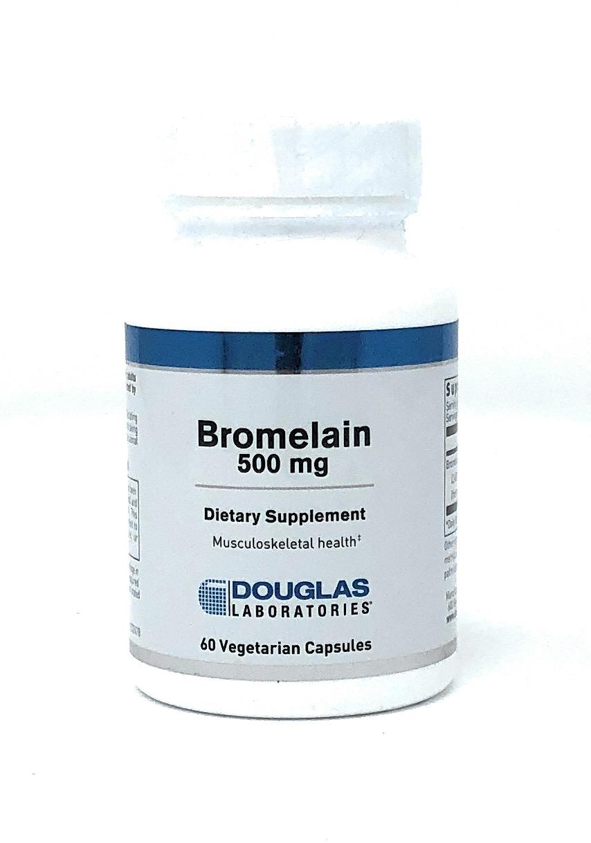Douglas Laboratories Europa Bromelain 500mg 60 veg. Kaspeln