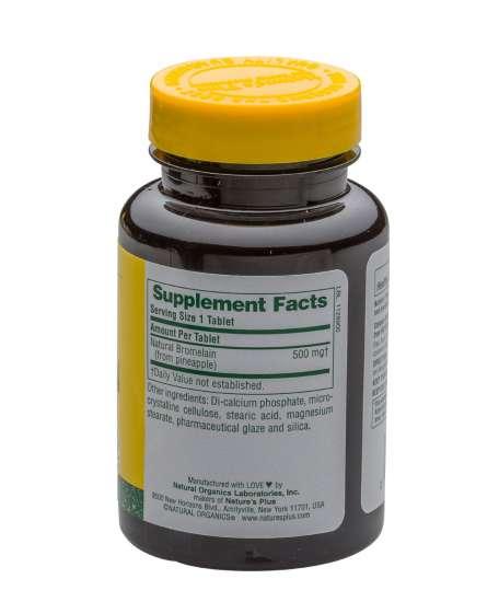 nahrungserg nzungsmittel kaufen bromelain 500 mg 600 gdu gram 90 tabletten np vitaminwelten. Black Bedroom Furniture Sets. Home Design Ideas