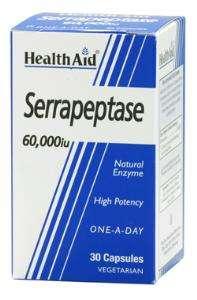 Health Aid Serrapeptase 60.000 IU 30 veg. Kapseln