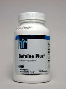 Douglas Labs Betaine Plus (650 Betain HCL+140mg Pepsin) 100 Kapseln